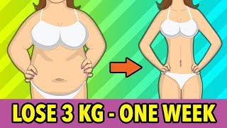 Lose 3 Kg In One Week - Home Weight Loss Exercises