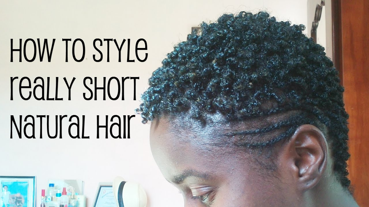 natural hairstyle with side part cornrow hawk for short hair youtube