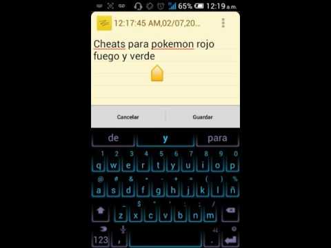 cheat pokemon rojo fuego atravesar paredes ingles