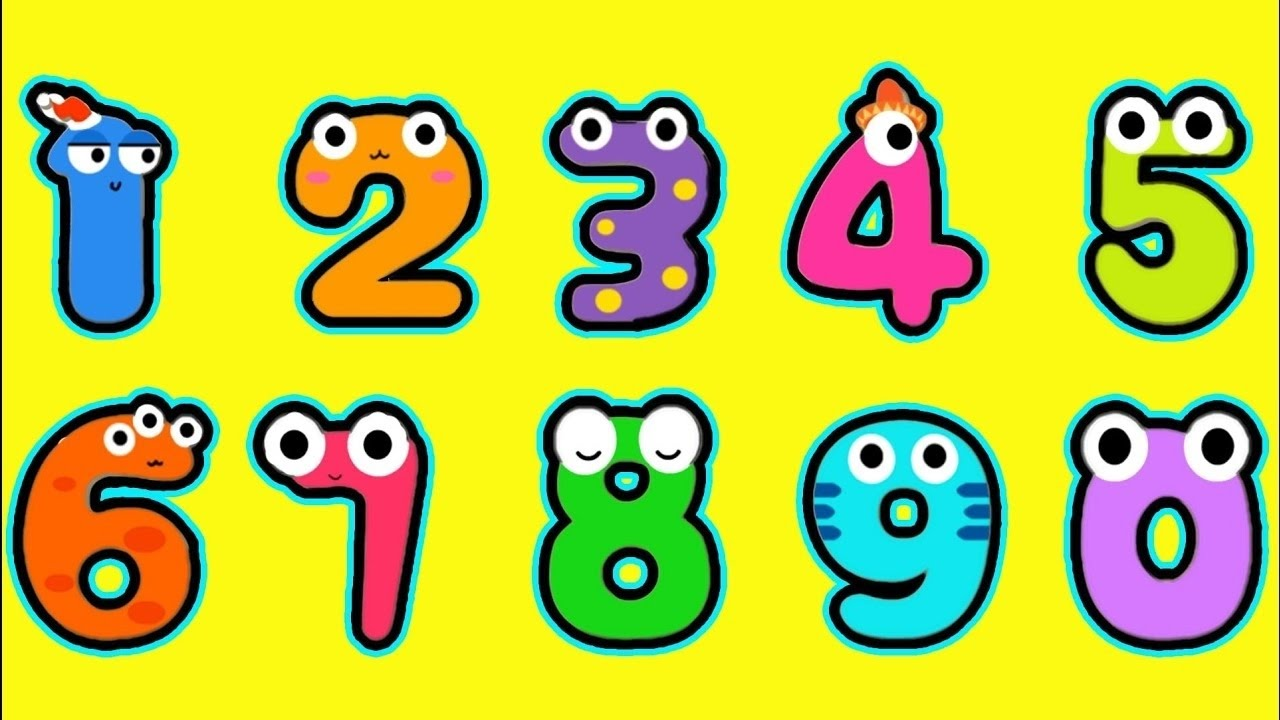 Kids Learn To Count Numbers 1-10