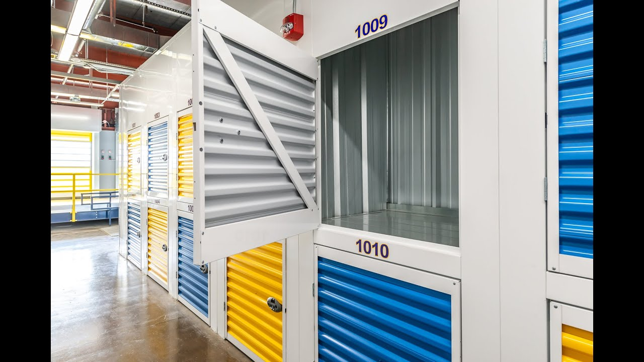 Cubbie Indoor Climate Controlled Self-Storage Unit - YouTube