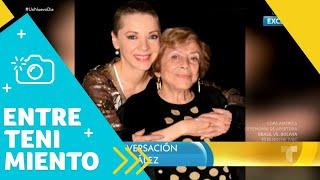 Recordamos la última conversación con Edith González   Un Nuevo Día   Telemundo