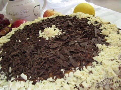 Рецепт - Торт  Дамский каприз  с шоколадным кремом