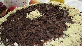 """Рецепт - Торт """" Дамский каприз """" с шоколадным кремом"""