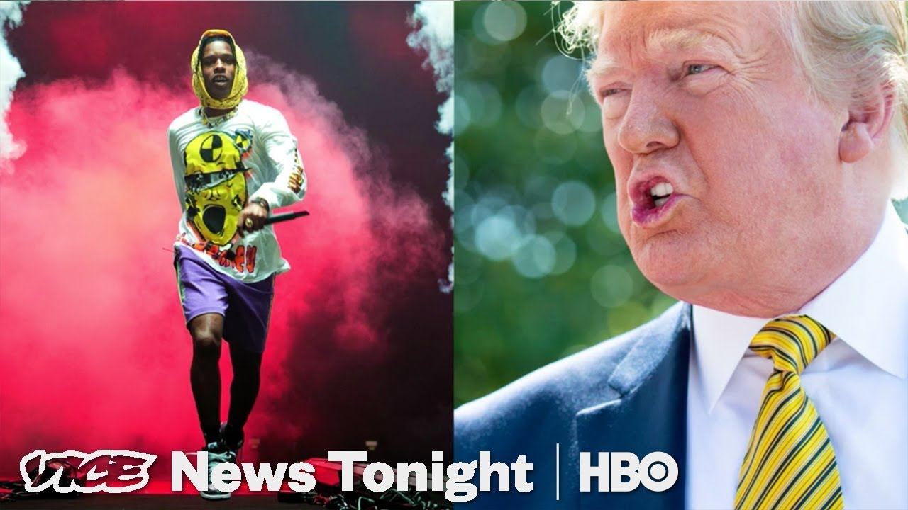 Trump Doesn't Understand How A$AP Rocky's Swedish Assault Trial Works