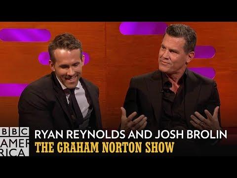 Josh Brolin Put Himself Through Torture For Ryan Reynolds - The Graham Norton Show