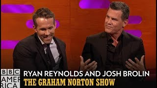 Josh Brolin Put Himself Through Torture For Ryan Reynolds - The Graham Norton Show