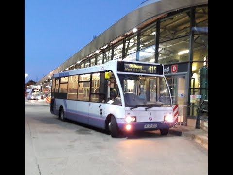 First Manchester Optare Solo M850 40335 ML02OGE