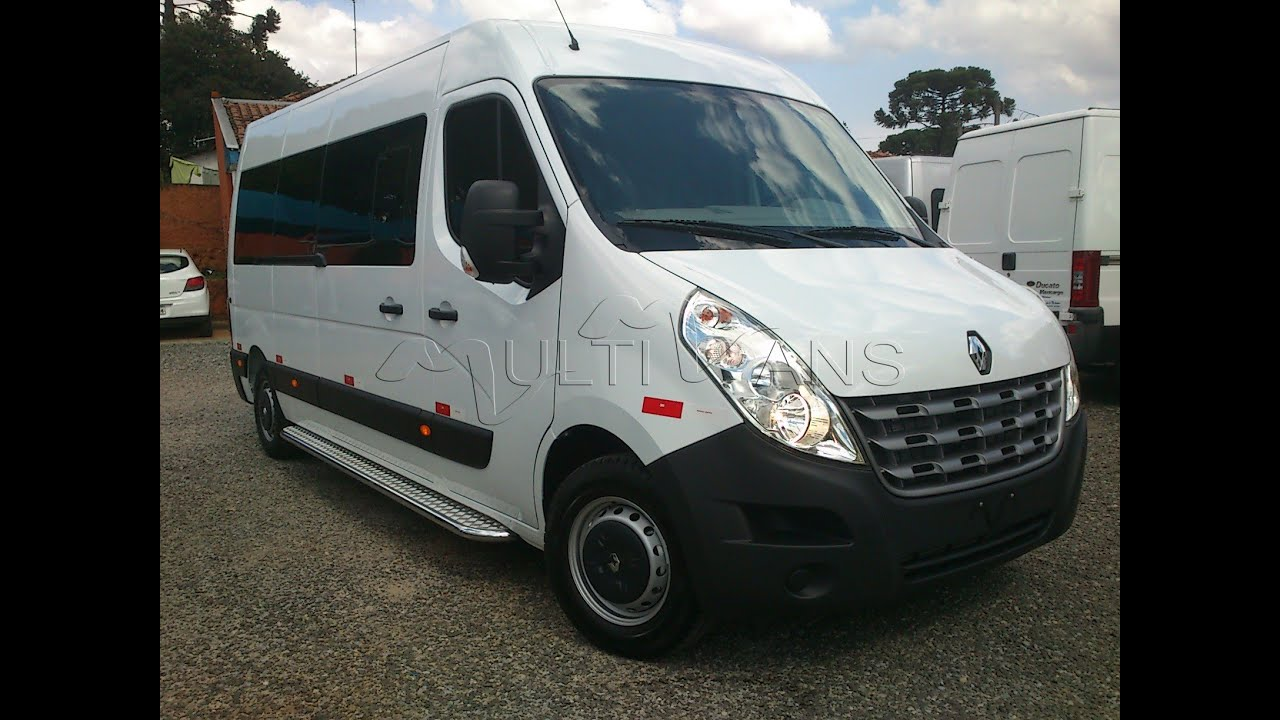 renault master 2016 pac conforto zero km vans zero km usadas e seminovas multivans youtube. Black Bedroom Furniture Sets. Home Design Ideas