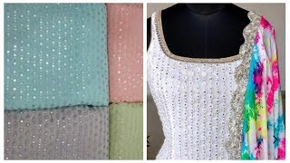 Convert embroidered net fabric…