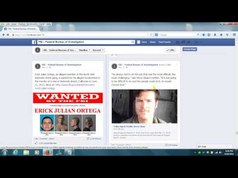 I Posted On FBI Facebook Page And Recorded It!