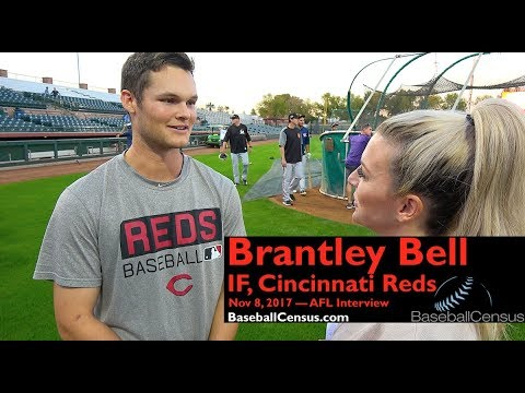 Brantley Bell, IF, Cincinnati Reds — November 9, 2017 Interview