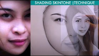 Step 5 part2 How to shade a face using brush w/ melvin techniques