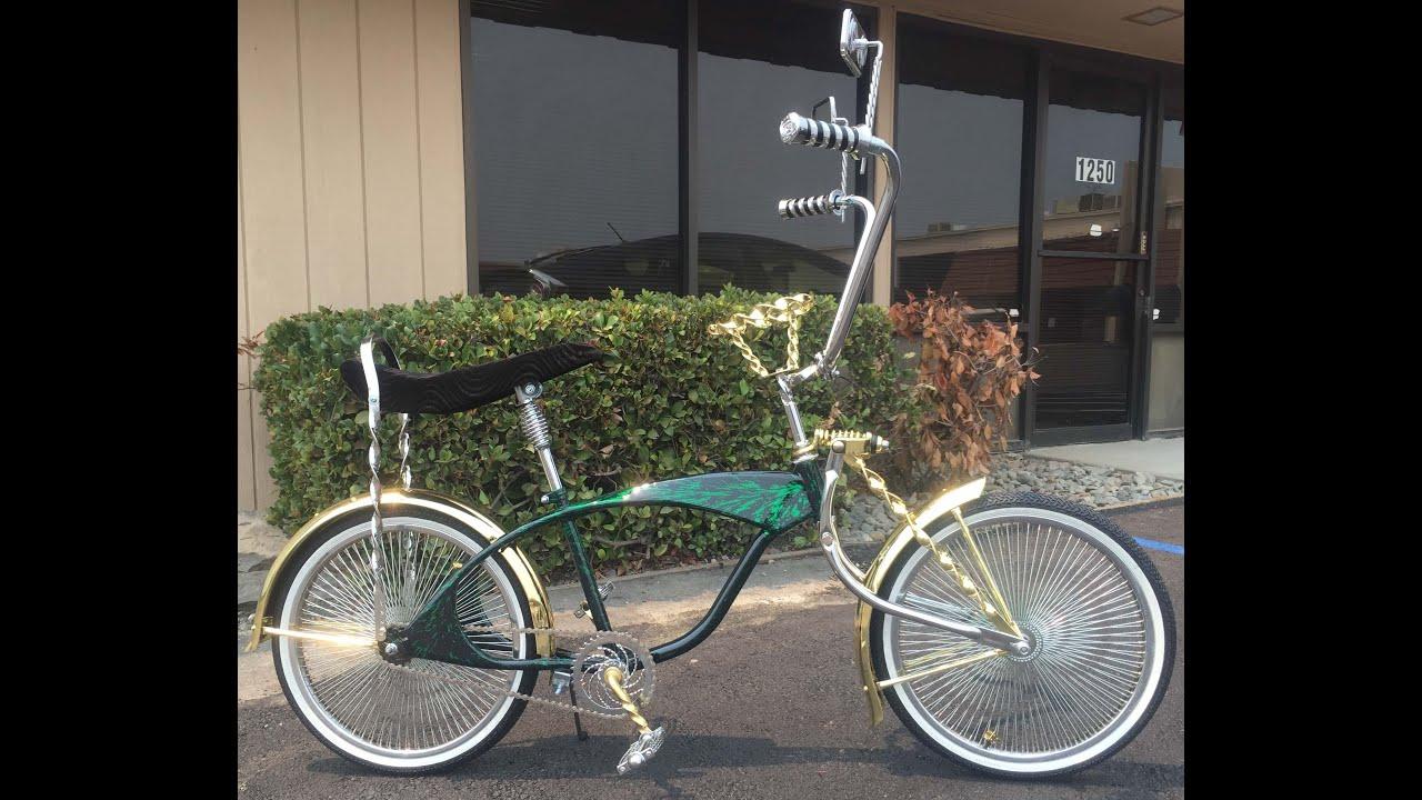 Lovely Green Bondo Bike Youtube