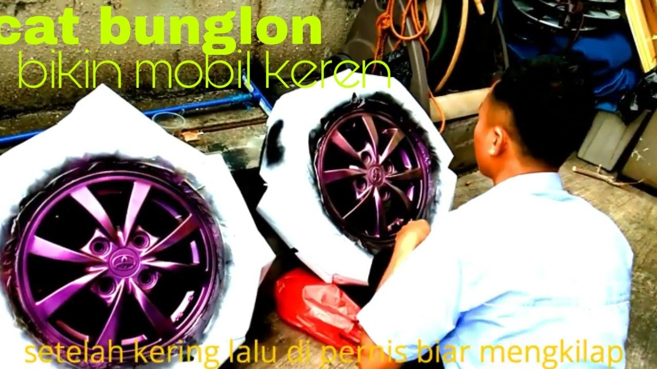 Inspirasi 39 Warna Cat Velg Mobil