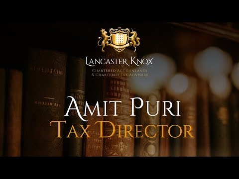 Business Show Interview: Amit Puri (Lancaster Knox LLP)