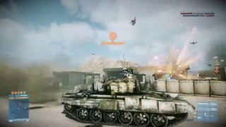 BF3 80-3 On Firestorm - Tank Gameplay