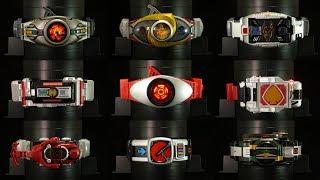 K2eizo誕生祭 第二弾!【4K動画】決定版っ!全レジェンドライダーシリーズ 変身ベルト 仮面ライダー〔裏技付き〕All Legend Rider Series Henshin Belt