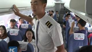 china s first indigenously designed arj21 700 conducts a demonstration flight