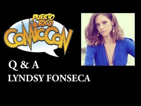 Lyndsy Fonseca Q&A @ Puerto Rico Comic Con 2016.