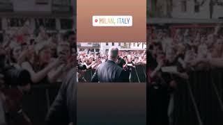 CNCO en Milán, Italia. Desfile Dolce Gabbana