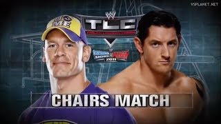 John Cena vs Wade Barret Highlights - TLC 2010
