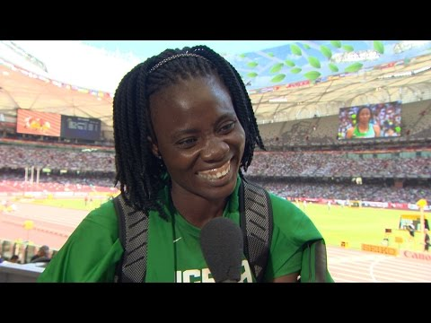 WCH 2015 Beijing - Doreen Amata NGR High Jump Qualification