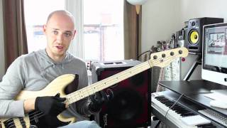 Playing Fast Legato Lines on Bass - Lesson with Scott Devine (L#49)