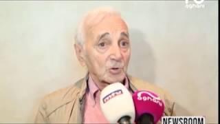 شارل أزنافور عانق التاريخ وخاطب فيروز من قلعة فقرا ولأغاني أغاني تحدث عن الاصرار!