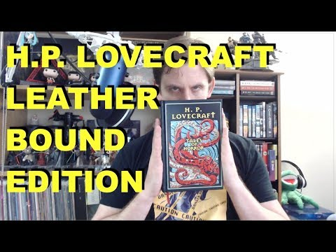 H.P. Lovecraft – Tales of Horror Leather-bound Canterbury Classics Review