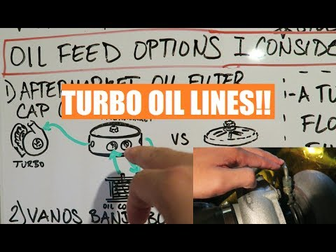 How To Supply Oil To Your Newly Boosted BMW E36 [Turbo E36 Concepts 2:Turbo Oil Lines + My Setup!]