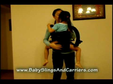Ergonomic Patapum Toddler Carrier Front Carry