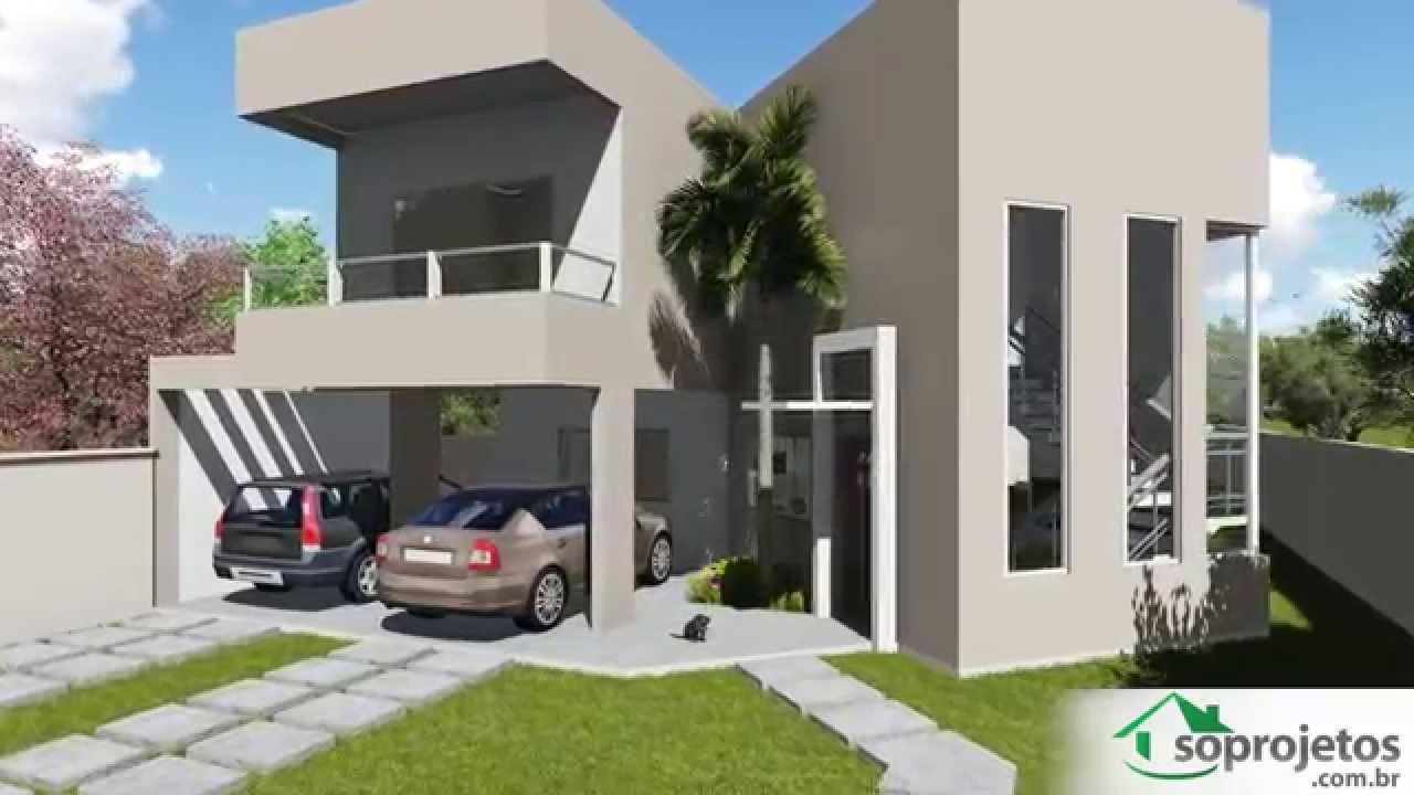 Modelos de casas modelo de sobrado com 4 quartos c d for Modelo de casa para 4 personas