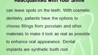 Cosmetic Dentistry Get Reacquainted with Your Smile Thumbnail