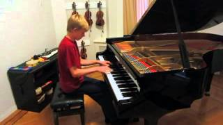 The Script - Superheroes (Piano Cover by Nathan Schaumann)