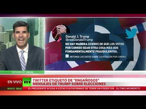 RT en Español: Trump firma una orden ejecutiva sobre las compañías de redes sociales y anuncia una ley adicional