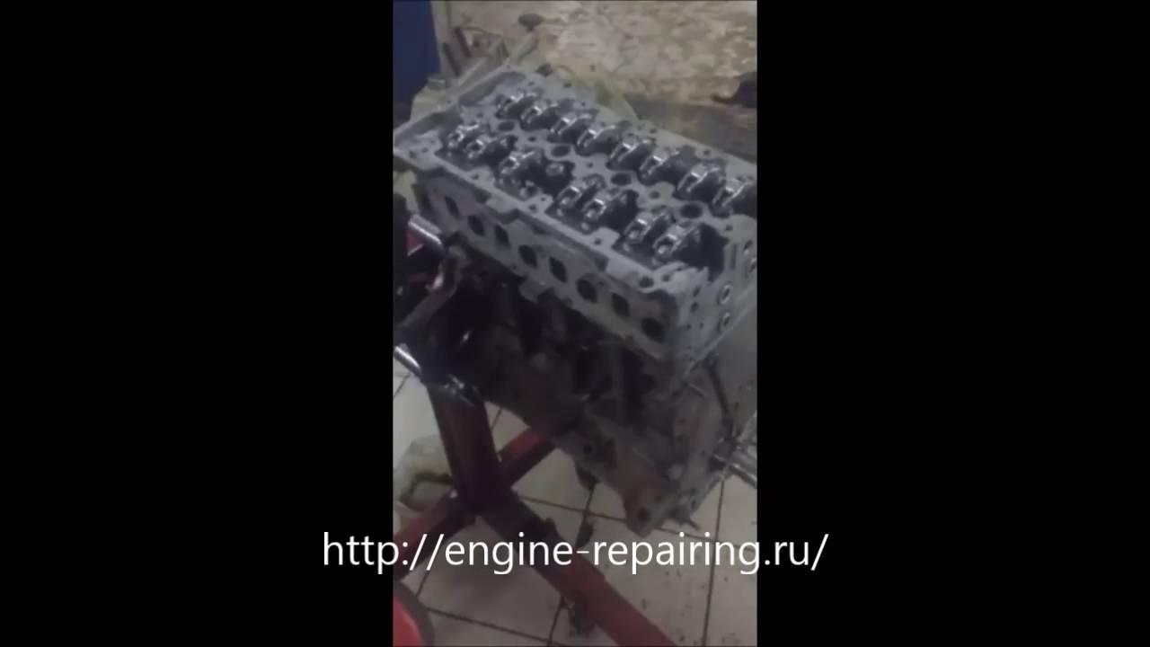 Ремонт двигателя Fiat Doblo 1 3 сборка двигателя