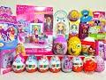 20 Киндер Сюрпризов Unboxing Kinder Surprise Barbie My Little Pony Disney Princess Monster High mp3
