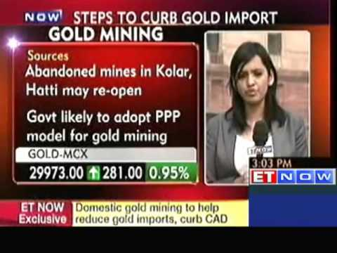 Govt Likely To Open Gold Mining In India