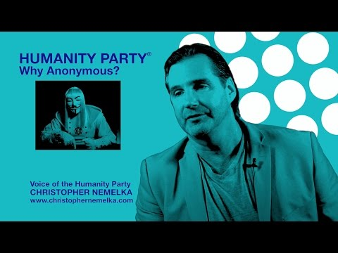 Voice of The Humanity Party® Christopher Nemelka Dispels Rumors and Introduces its Platform