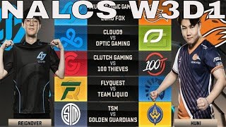 Video NA LCS Highlights ALL GAMES Week 3 Day 1 / W3D1 Spring 2018 download MP3, 3GP, MP4, WEBM, AVI, FLV Agustus 2018