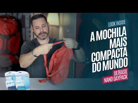 A Mochila Mais Compacta do Mundo! UltraSil Nano Daypack Sea to Summit