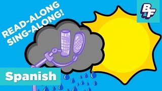 Repeat youtube video Sing Along Children Song - Learn Spanish Seasons and Weather with BASHO & FRIENDS - Las Estaciones