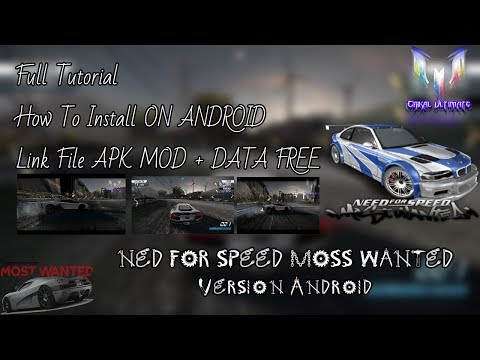 How To Install GAMES Need For Speed ​​MOST WANTED In All Android & Unlock All 100% Work