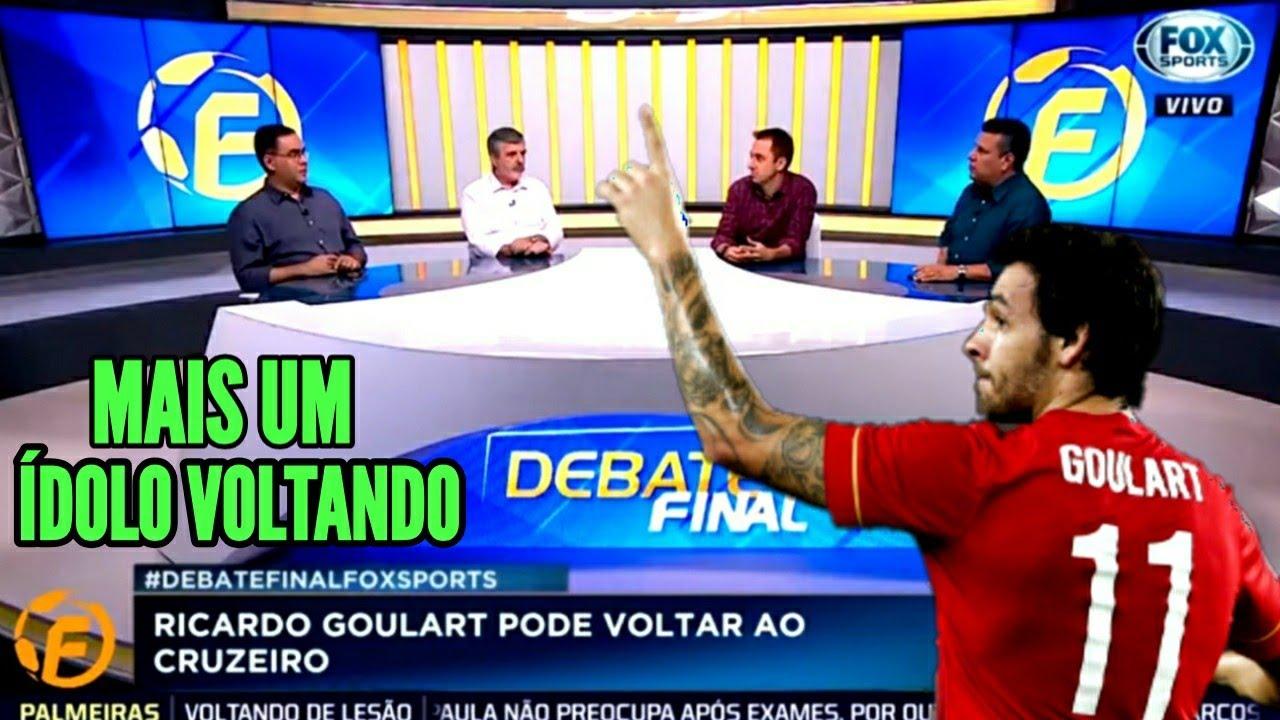 BOMBA ! SEGUNDO JORNALISTA DA FOX SPORTS, RICARDO GOULART SE OFERECEU PARA VOLTAR AO CRUZEIRO.