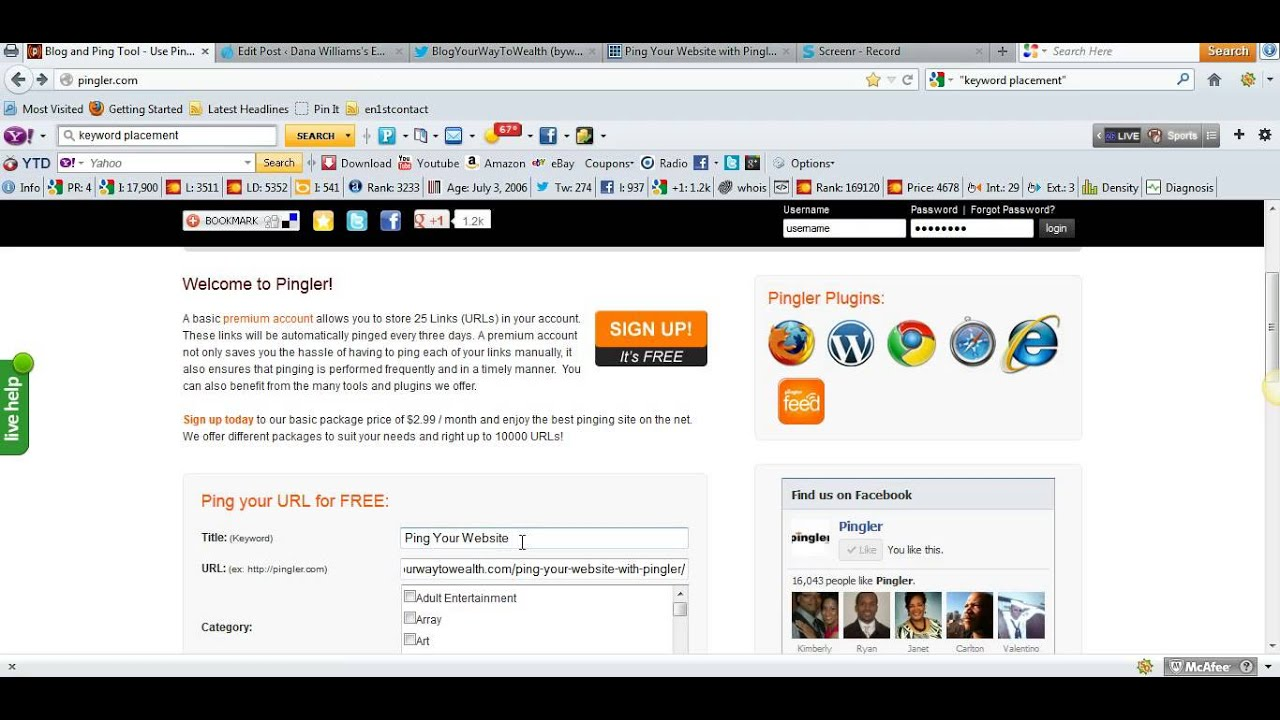 Best 100+ Free Ping Submission Sites For Faster Indexing - RegentSEO