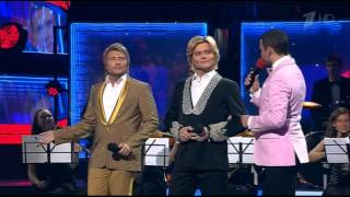 Дуэт Глеба Матвейчука с Николаем Басковым. 08.06.2014