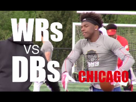 Chicago (IL) : The Opening Regionals : WRs v DBs 1 on 1s 2016 : UTR Top Plays