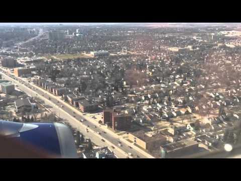 Landing in Winnipeg