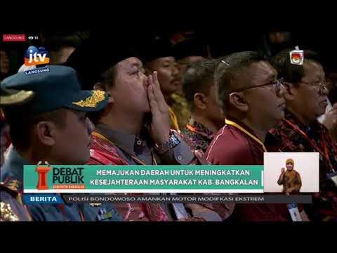 Debat Pilkada Bangkalan 2018 Part I